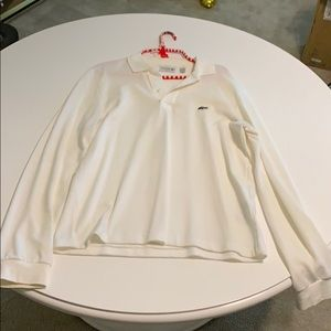 Lacoste Polo long sleeve size small